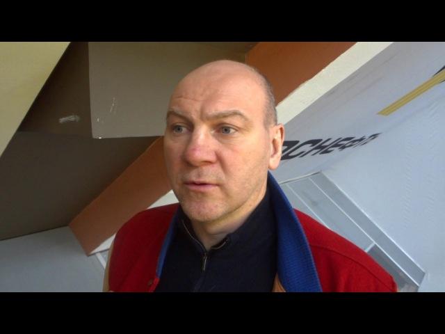 Андрей Николишин об итогах пятого матча серии Красная Армия МХК Динамо СПб