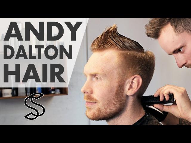 Andy Dalton hairstyle ★ Sporty NFL short hair ★ Men's hair inspiration