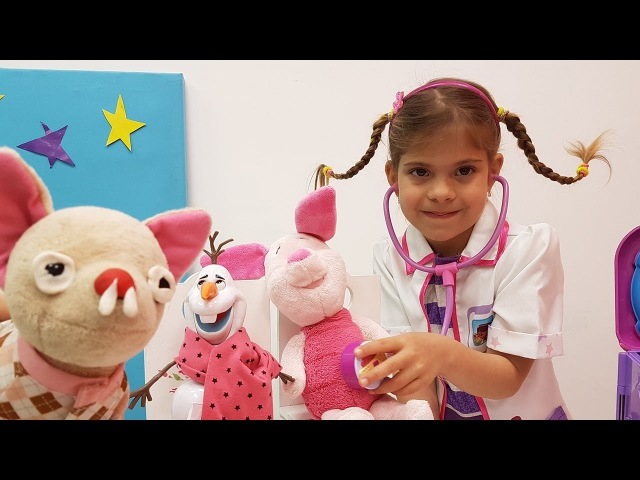 Dondurma hızlı yiyen Olaf hastalanıyor 🏥👩⚕️ Oyuncak Doktor Seti ile DoktorOyunları. EğiticiVideo » Freewka.com - Смотреть онлайн в хорощем качестве