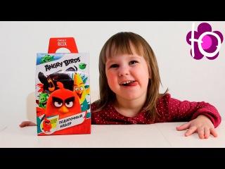 Энгри бердз открываем большой свит бокс с игрушками Big sweet surprise blind box review