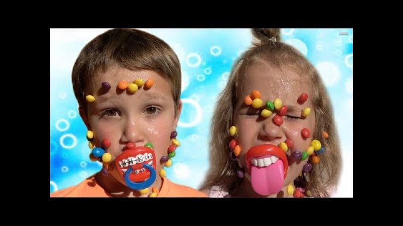 Candy ЧЕЛЛЕНДЖ Очень МНОГО конфет ВЫИГРАЛИ в АВТОМАТ MM's VS Skittles Haribo VS Chupa Chups
