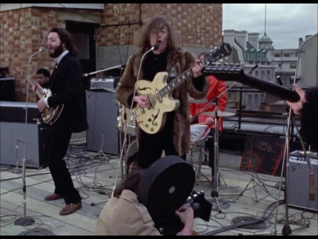 The Beatles - Don't Let Me Down (Backstage)