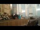 Дарья Сесина - Дж. Верди Песенка Оскара из оперы Бал-Маскарад
