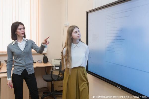 Современными гаджетами оборудуют все московские школы до конца 2018 года