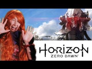 КВНщица играет в Horizon Zero Dawn