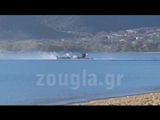 Греция.20-09-2016.Крушения вертолета AH-64 Apache