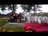 День победы на братской могиле с барятино