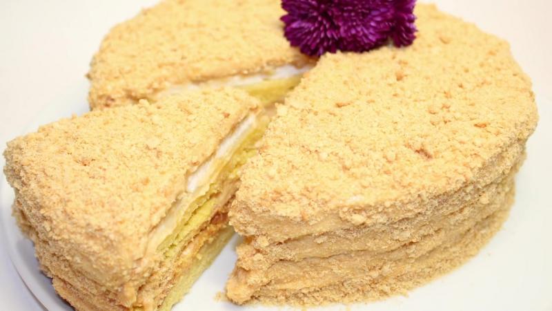 Торт Любимый. Рецепт приготовления » Freewka.com - Смотреть онлайн в хорощем качестве