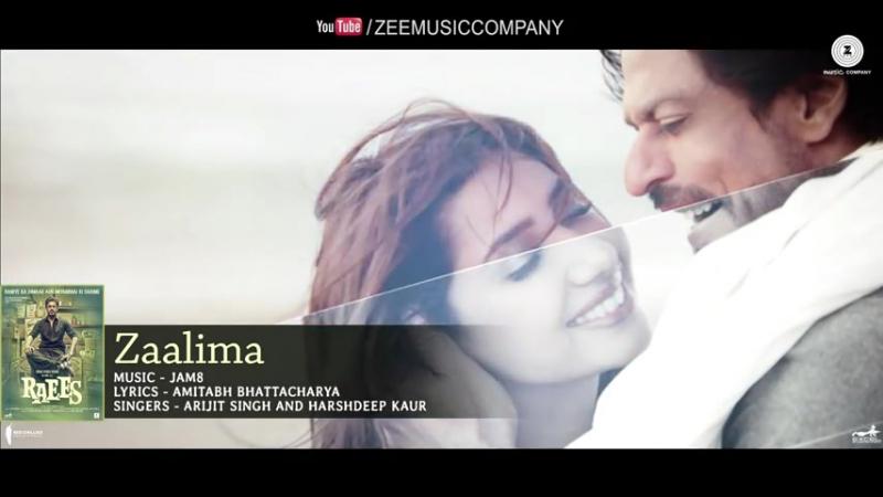 Zaalima - Full Audio _ Raees _ Shah Rukh Khan Mahira Khan _ Arijit Singh Har_HIGH