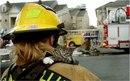 Пожарные и спасённые животные