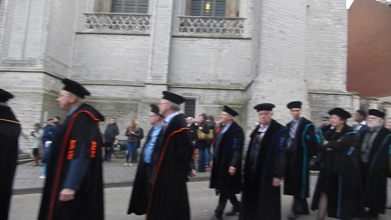 Patron Saint's Day in Leuven, Belgium 2017