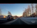 Тестовая видеозапись видеорегистратора AUSDOM A261 2K UHD 1296P Car DVR Built in GPS