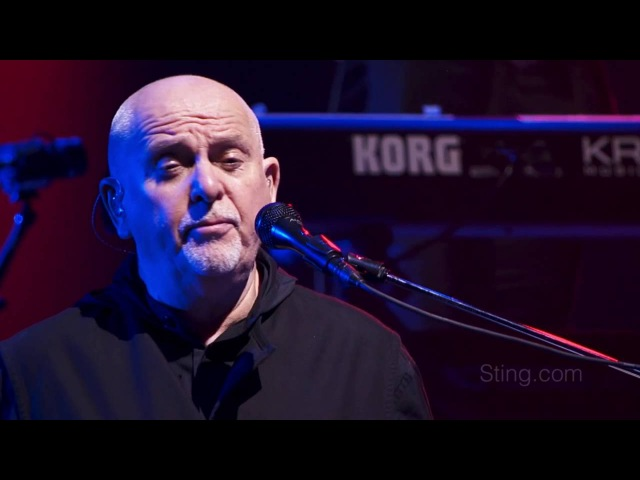 Sting Peter Gabriel - Englishman In NY live 2016 Rock Paper Scissor Tour s