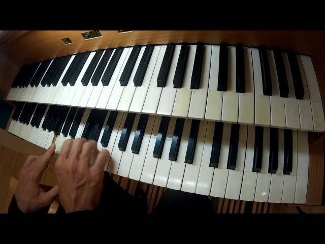 J. S. Bach Prelude and Fugue in C Major BWV 545 / Бах Прелюдия и фуга До мажор