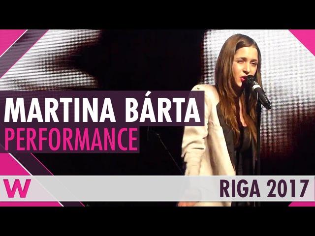 Martina Bárta My Turn (Czech Republic 2017) LIVE @ Eurovision Pre-Party Riga 2017
