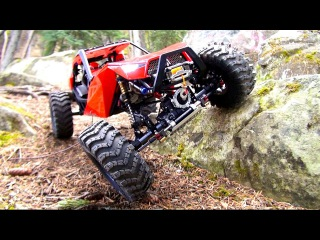 RC ADVENTURES - DiSCOVERiNG the CAPO ACE 1 4x4 RC Truck / Rock Buggy - 1/10th Scale Triumph Testing