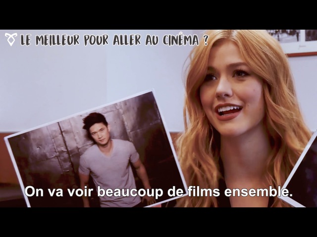 Shadowhunters Whos the best Katherine McNamara parle de ses co-stars