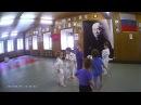Дзюдо, Игра Воробьи и вороны, дети 4-6 лет.
