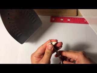 МК основа бутон из зефирного фоамирана для розы