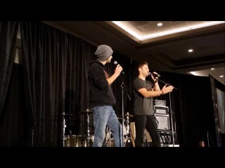 J2 panel SFcon 2016 Jensen on how he came up with the name Zeppelin for his son