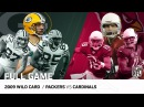 "2009 NFC Wild Card: Packers vs. Cardinals | ""Most Points Scored in Playoff History"" 