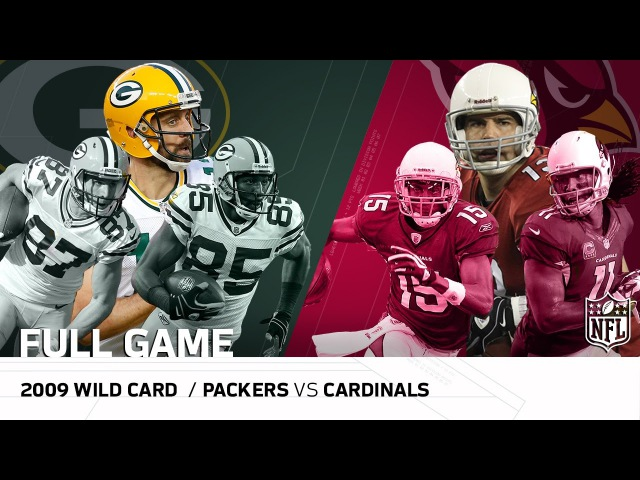 2009 NFC Wild Card: Packers vs. Cardinals  