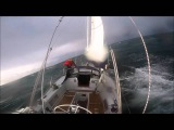 Extreme Sailing Conditions, Huge Waves, Stormy Weather!