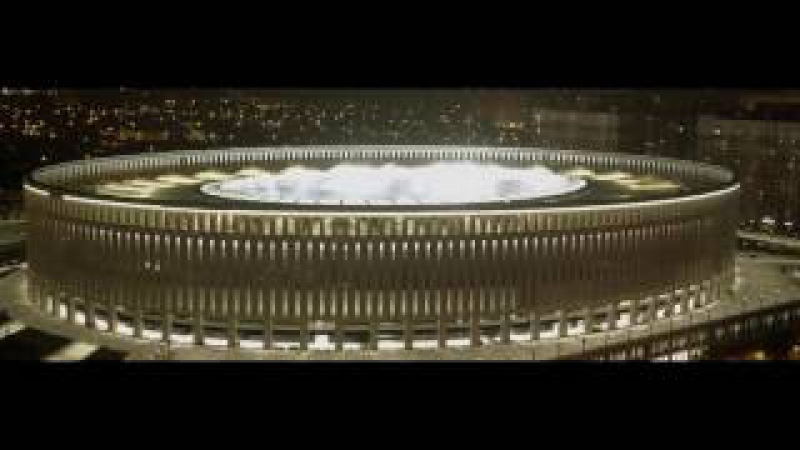 ESTA Construction tarafından yapılan Krasnodar Arena Stadyum projesi.