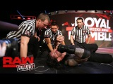 Roman Reigns recovers after Raw goes off the air Raw Fallout, Jan. 16, 2017