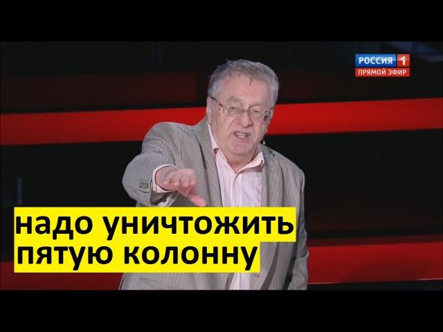 Жириновский о США и других: они хотят нас уничтожить!