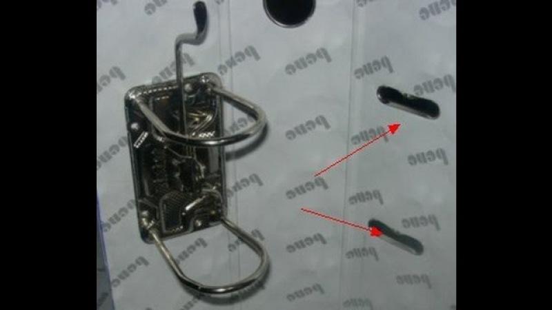 Двухголовочный аппарат для установки овальных люверсов на канцелярские папки YZ