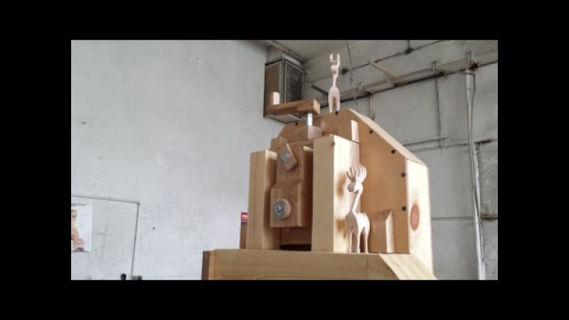 A speed assembly of the Matthias Wandel 16 bandsaw