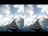 Virtual Reality Roller Coaster VR Box Google Cardboard Oculus 3D SBS Underwater Rollercoaster Park