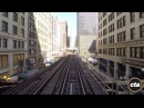 CTA Ride the Rails Brown Line in Real Time
