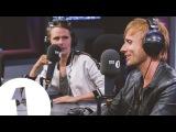 Muse talk Reading & Leeds plans with Annie Mac on BBC Radio 1