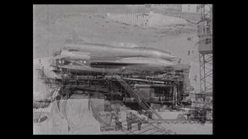 БУРЯ ★ Lavochkin La-350 Burya prototype intercontinental cruise missile