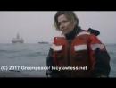 Lucy Lawless Greenpeace (21 июля 2017 г.)