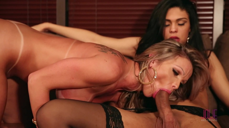Jolie And Friends Carla Novaes and Ingrid Moreira A Nasty Surprise Shemale anal gay Трансы порно