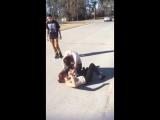 GIRLS FIGHTING -Kızlar Ağız Burun Daldı
