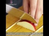 Как красиво нарезать яблоко