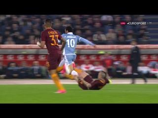 Лацио - Рома 1 тайм Кубок Италии Полуфинал 2 матч (04.04.2017)
