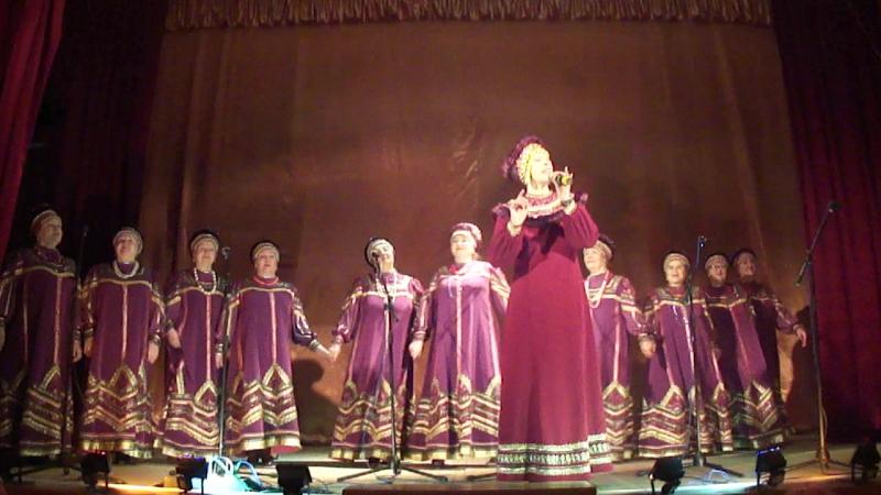 Выступление народного самодеятельного коллектива Хор ветеранов Отрада, в п. Ягодный, Кондинский район, 28 мая 2017 год