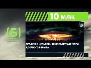 Какая температура внутри ядерного взрыва?