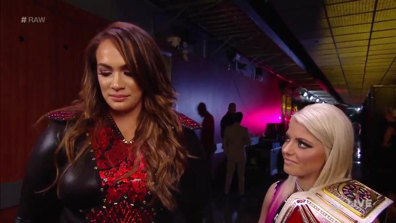 WWE RAW: Alexa Bliss Wishes Nia Jax Good Luck