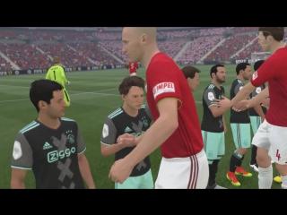 Сборная малышей против сборной великанов в FIFA 17