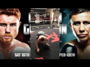CANELO RIPS VICIOUS 6 PUNCH COMBO ON SPARRING PARTNER; LOOKING LIKE A MONSTER FOR GOLOVKIN