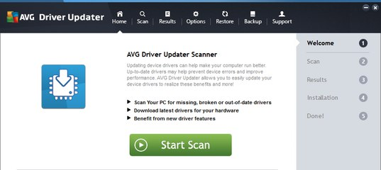 Avg Driver Updater торрент скачать - фото 6