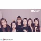 160318 ✰ Gfriend in official instagram (repost from Dazed Korea)
