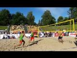 Этап чемпионата России по пляжному волейболу в Ярославле