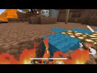 Медведь и Лаггер MineCraft Прохождение Карты - Две обезьянки бегают по дереву за Пластинкой